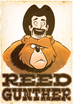 2011 : Reed Gunther Comic Series, Created by Former Residents of St. Johns