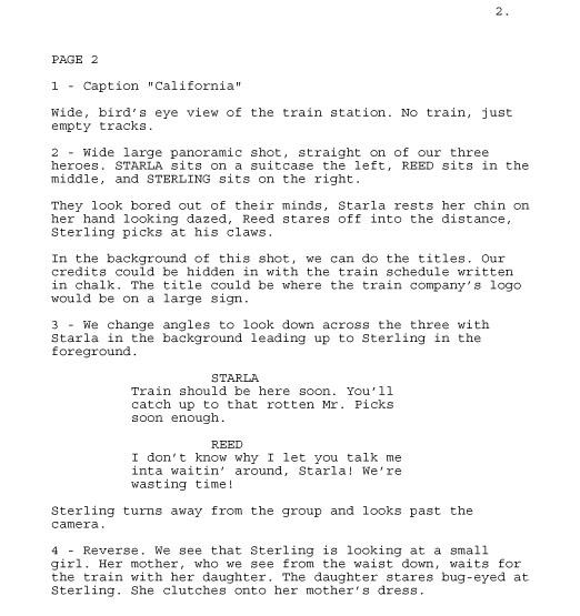 RG Script Issue 3 TRP03