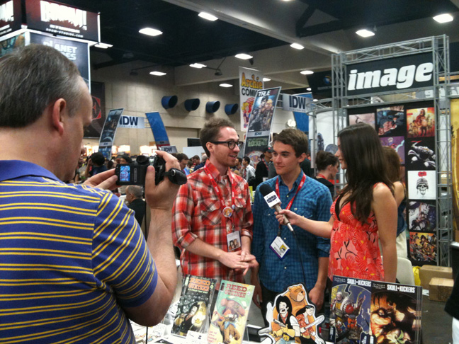 SDCC 2011 Interview_sm