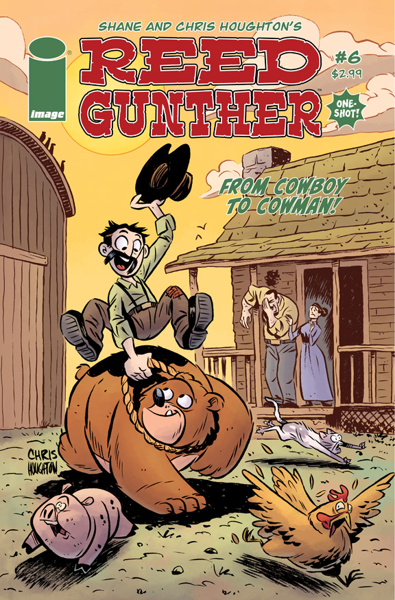 Reed Gunther #6 Cover